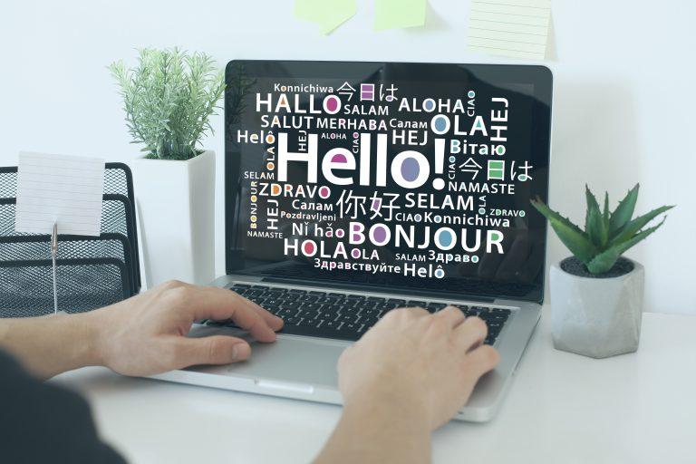 Multilingual web design services