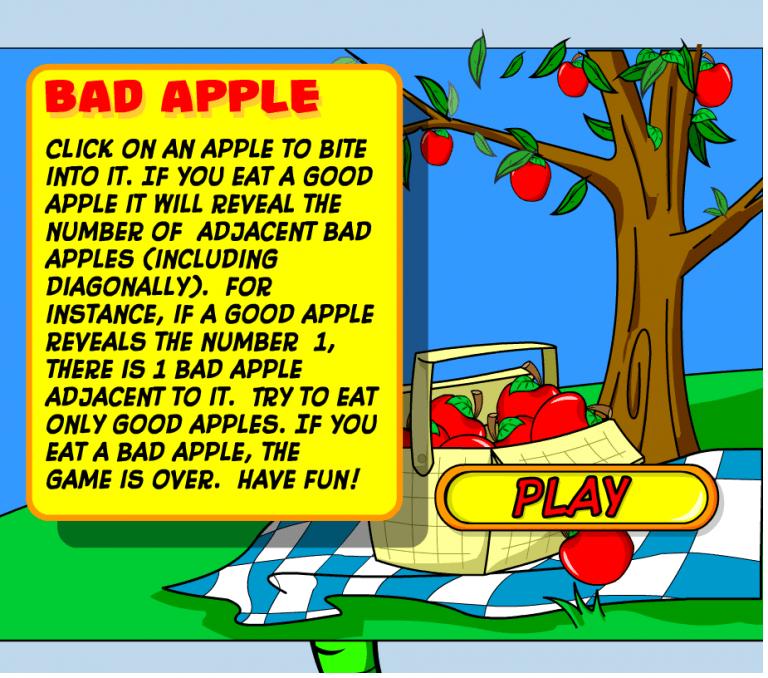 Bad Apple Game