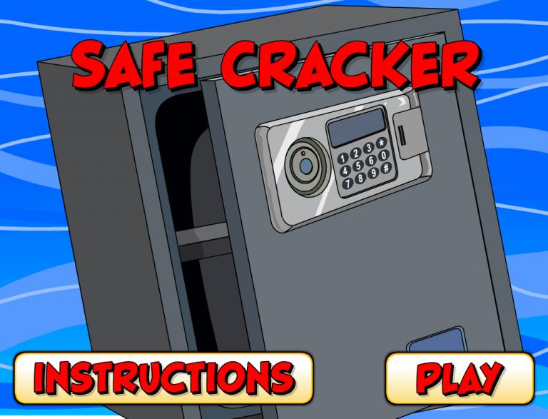 Safe Cracker Memory Game