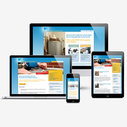 ACQualityCare responsive showcase