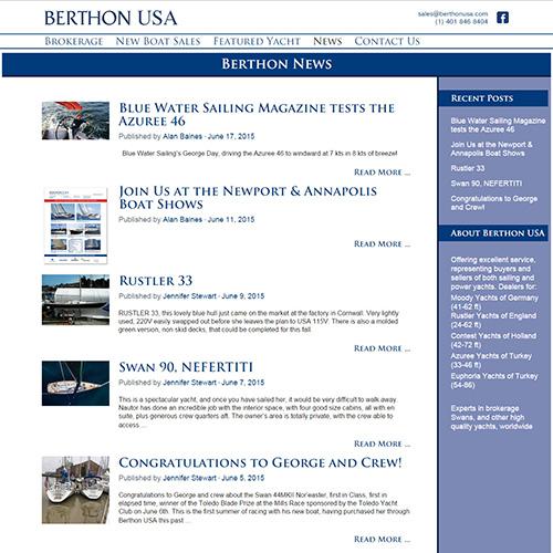 Berthon News