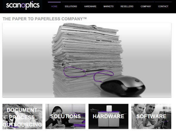 Scanoptics - Home Page