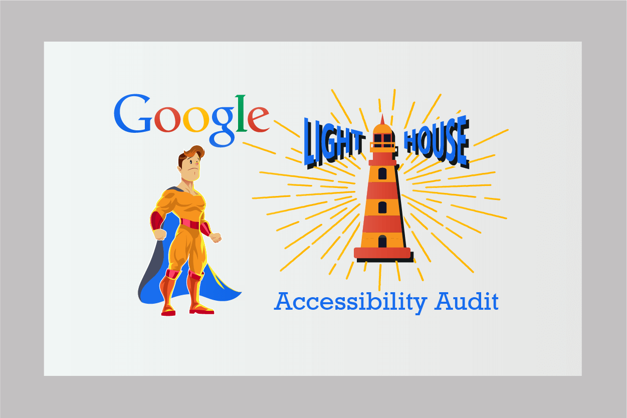 Lighthouse's accessibility audit tool