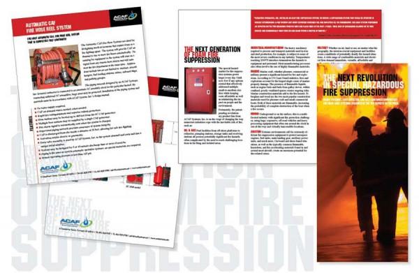 ACAF Systems, Inc. - Print Materials Design