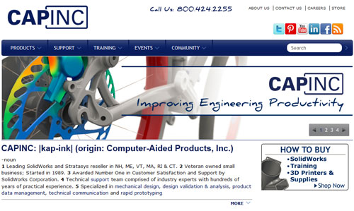 Capinc Home Page
