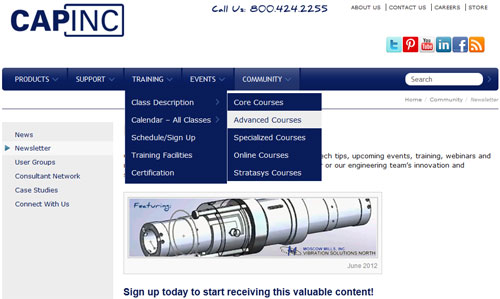 Capinc Inside Page
