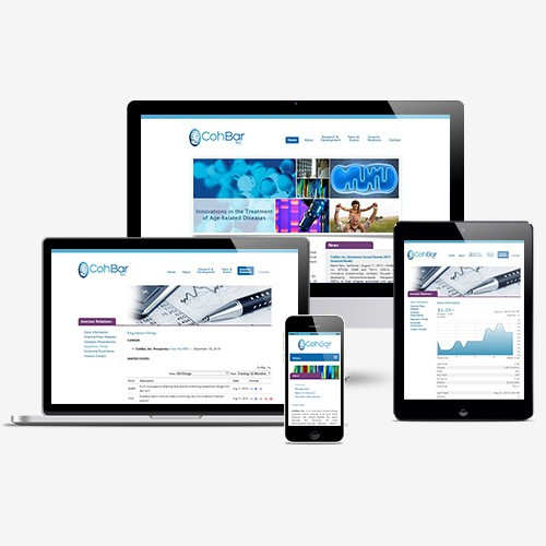 Biotech Website design