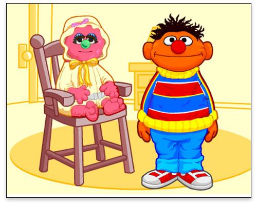 Sesame Street - Do What I Do with Baby Natasha