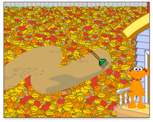 Sesame Street - Fall Day Gameplay