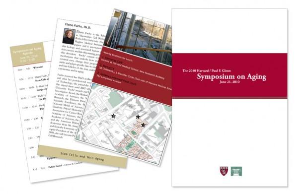 Paul F. Glenn Laboratories - Symposium on Aging Brochure Design