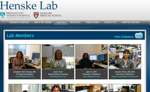 Henske Lab Members Page