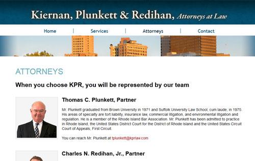 Kiernan Attorneys Page