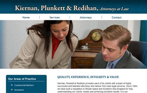 Kiernan Attornerys Home Page