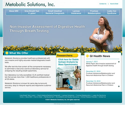 Metabolic Solutions Homepage