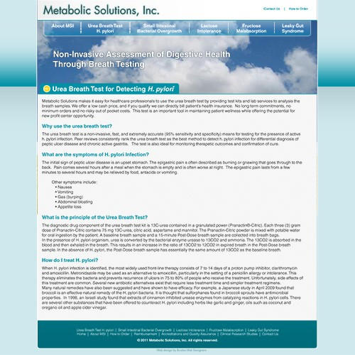 Metabolic Solutions Inside Page