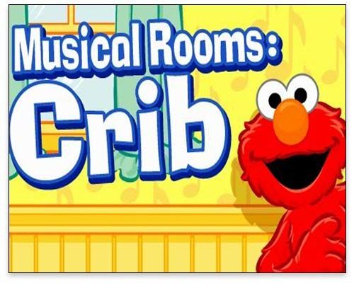 Sesame Street - Musical Rooms Crib Title