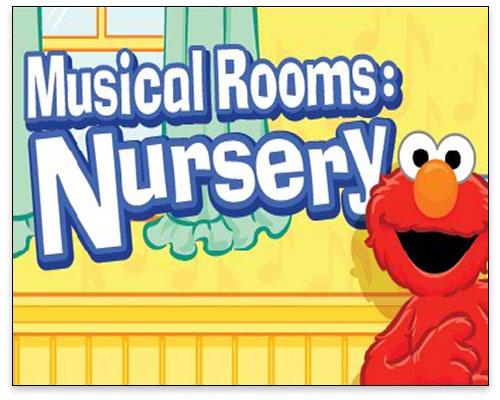 Sesame Street - Musical Rooms Nursery Title
