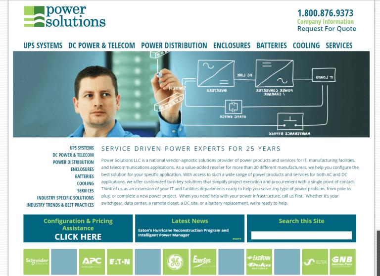 Power Solutions Web Design