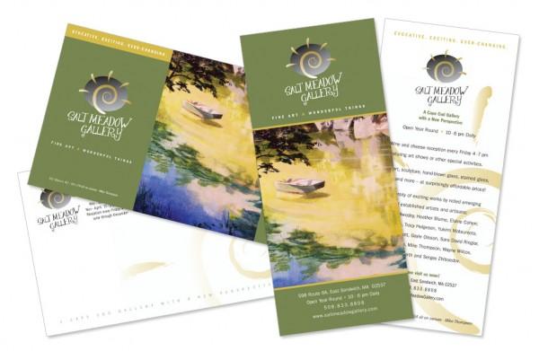 Salt Meadow Gallery - Post Card Designs