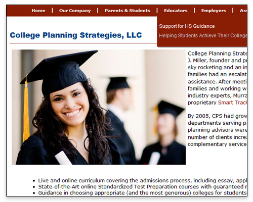 College Planning Strategies, LLC - About Page Close-up