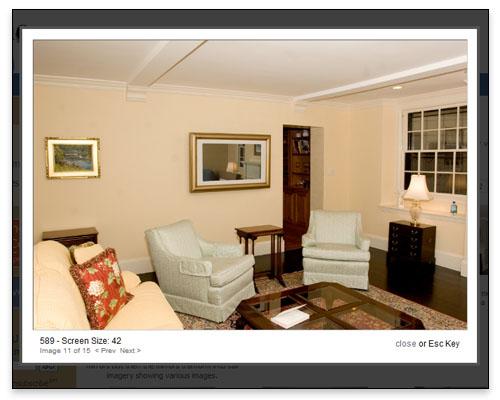 Frame My TV - Lightbox Sample - Boston Web Design