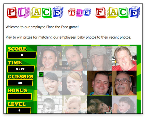 The Halfway Cafe - Custom Flash Game Page Close-up