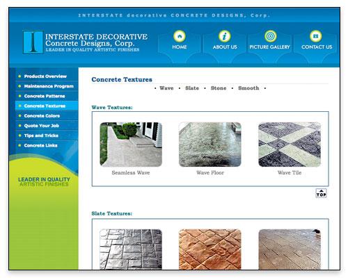 Icrete - Concrete Textures Page Close-up