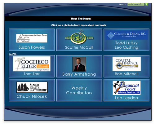 Money Matters Radio - Meet the Hosts Page Close-up