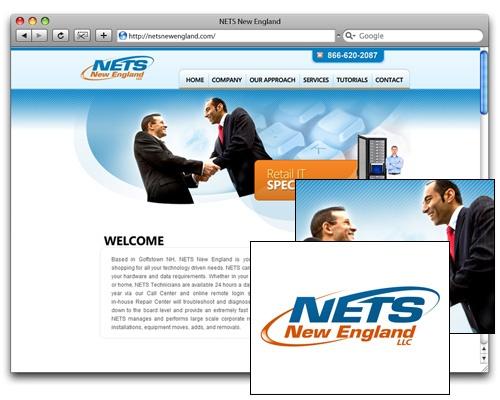 NETS New England - Homepage Design