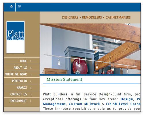Platt Builders - Mission Statement Page Close-up