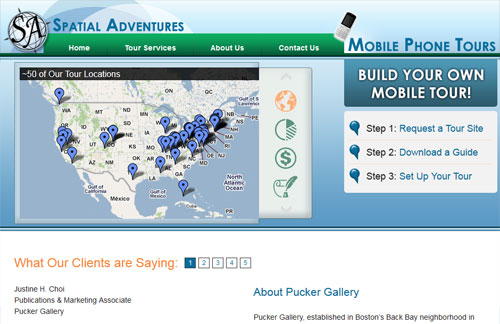 Spatial Adventures Home Page