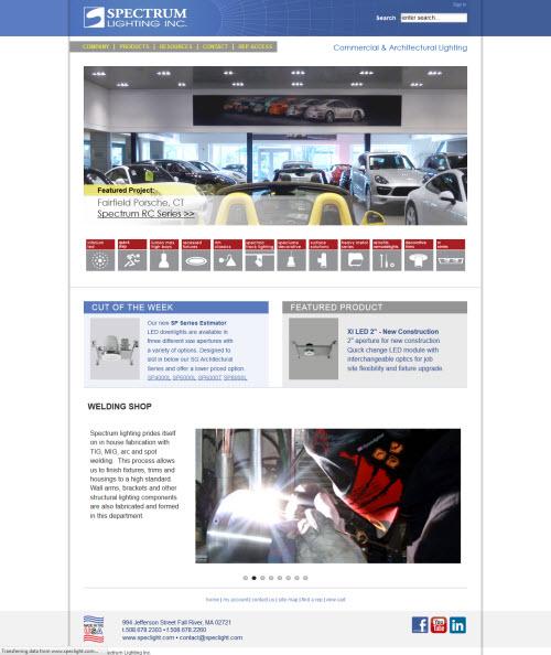 Spectrum Light - responsive site
