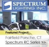 Responsive Website Design for Spec Lighting Inc.