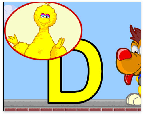 Sesame Street - Toddler Letters intro