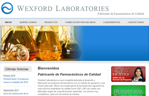 Wexford Labs Home Page